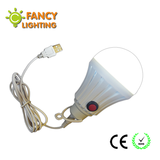 High Brightness Led Light Bulb With Onoff Switch High Power 7w 12w