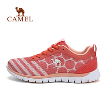 Camel Women's Sneaker Outdoor Off-road Running Women's Low Sport Shoes PU Mesh Breathable Shoes