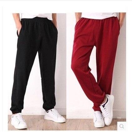 Men Hip Hop Sweatpants 2020 Fashion Jogging Trousers Mens Solid Plus Size Workout Pants Sports Casual Fitness Joggers XL-7XL