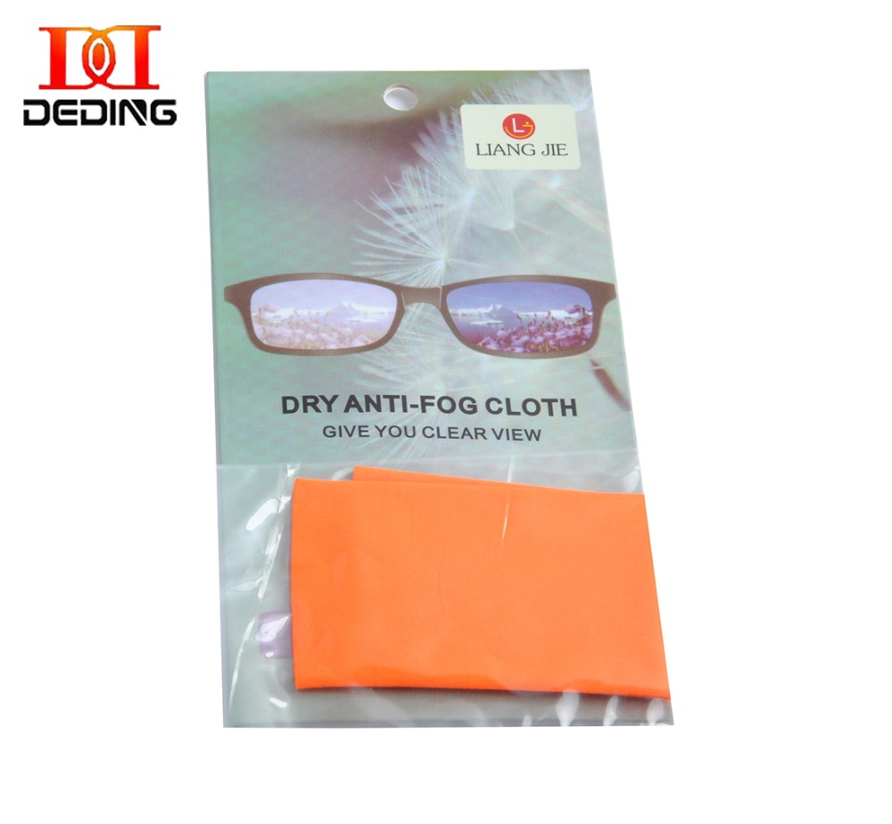 Cloth To Clean Eyeglasses In Store