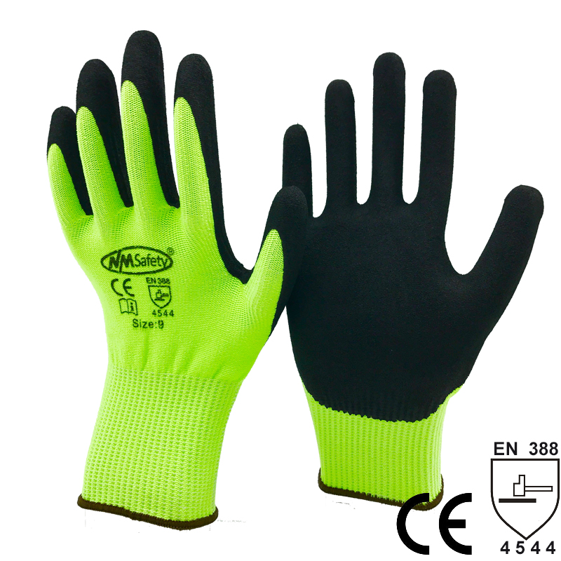 NMSafety Wholesale Price Safety Working Gloves Anti Cut Gloves