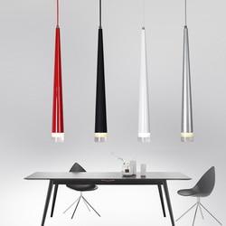 Modern Pendant Lights 3W LED Cone-shape Hanging <font><b>Lamps</b></font> <font><b>for</b></font> Restaurant/Living Room/<font><b>Bar</b></font> Lamparas Home Decoration Lighting Luminaire