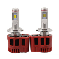 2Pcs Super Bright H7 LED Headlamps Upgraded Version Car Fog Lamp Bulbs 45W Car Daytime Driving