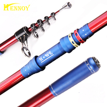 Hennoy Match Telescopic Rod 4.2m 4.5m Rishing Rod Throwing Stick Surf Fishing Telescopic Rod