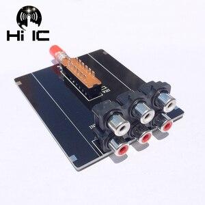 Image 1 - 2 Input 1 Output  Audio Signal Switcher Switch Splitter Selector Box Sound Video RCA AV