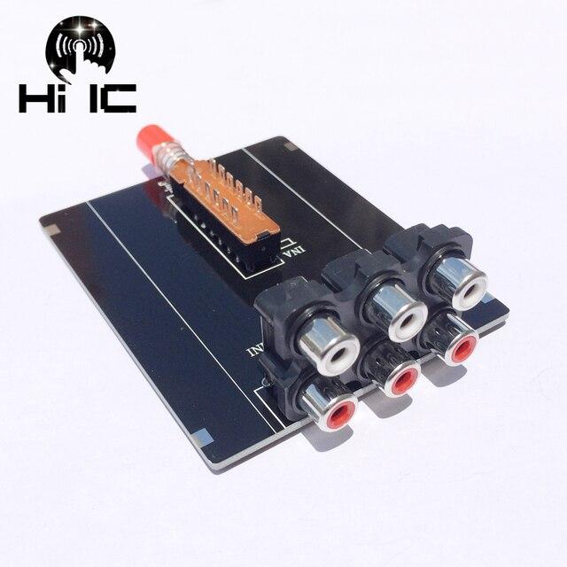 2 Input 1 Output  Audio Signal Switcher Switch Splitter Selector Box Sound Video RCA AV