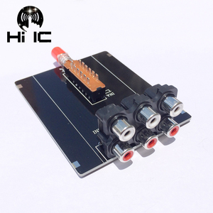 Image 1 - Conmutador de señal de Audio, 2 entradas, 1 salida, divisor, Caja selectora, Audio, vídeo, RCA, AV