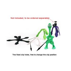 Image 2 - Новейший мини Гибкий штатив для мобильных телефонов, смартфонов, телефонов, подставка для путешествий, Открытый Портативный Прекрасный Gecko Spider