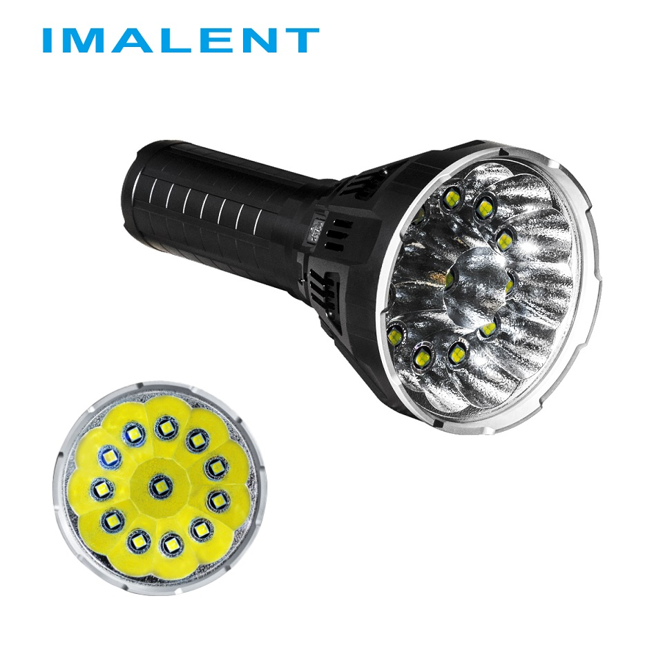 New Original IMALENT MS12 LED Flashlight CREE XHP70 53000 Lumens with Battery and Charger for Outdoor Search ,Campping 10x original cree xhp70 12v led diode for led flashlight free shipping