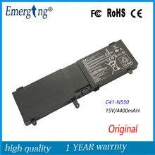 Original 15 v 59wh nueva batería del ordenador portátil para asus n550 n550j n550ja n550jv n550jk q550l q550lf n550x47jv g550jk g550jkc41-n550