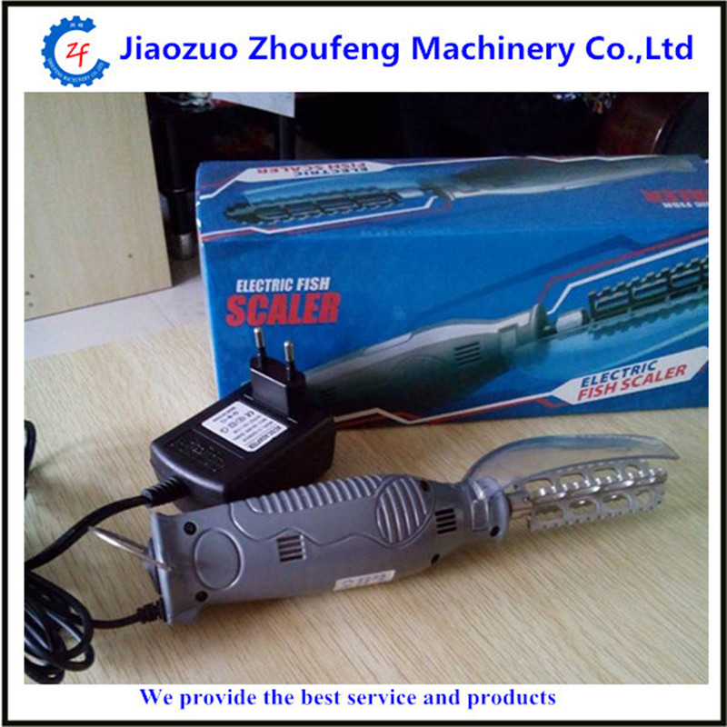 Easy operate manual electric fish scaler    ZF
