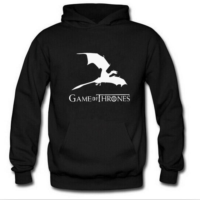 Game Of The Throne Print Women Sweatshirt Hoodie