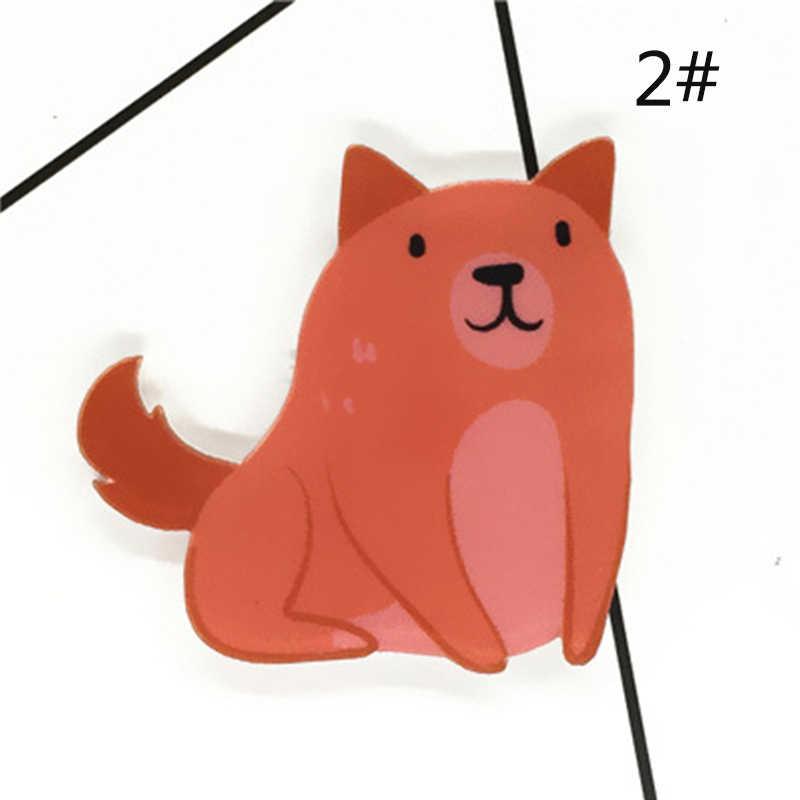 Baru LNRRABC Kreatif Harajuku Bros Pin Kartun Kucing Indah Lencana Bros Wanita Aksesoris Pria Bros Dekoratif Pin