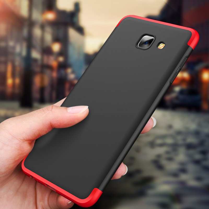 new arrival e6474 61f74 US $4.56 24% OFF|For Samsung Galaxy J7 Max 360 Degree Full Coverage case  cover Matte hard back protection shockproof Galaxy J7Max Coque Armor-in ...