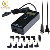 90W LCD Smart Universal Laptop Adapter AC DC Charger For ACER HP DELL Samsung Lenovo Asus