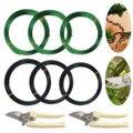 3 рулона  10 м  алюминиевые провода для обучения дереву с садовыми ножницами для начинающих бонсай  для тренировок  художников 1 0 мм/1 5 мм/2 мм
