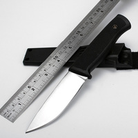 Hot Sale Straight Sheath Knife 8Cr13 Blade Camping Survival Knives Fixed Hunting Knife With ABS Antiskid