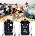 BTS пот acessórios bangtan две серии КРЫЛЬЯ SUGA с бейсбол равномерное и прилегающих kpop одежду для девочек
