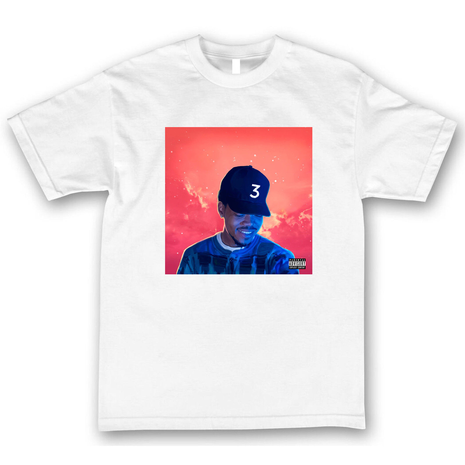 The coloring book chance the rapper tour - Chance The Rapper T Shirt Coloring Book Tour 3 Angels New Shirts Homme Novelty Tshirt Men Short Sleeve T Shirt Free Shipping