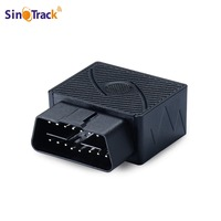 SmallGPS Tracker 16 PIN Interface OBD Plug Play Car GSM Vehicle Tracking Device GPS Locator With