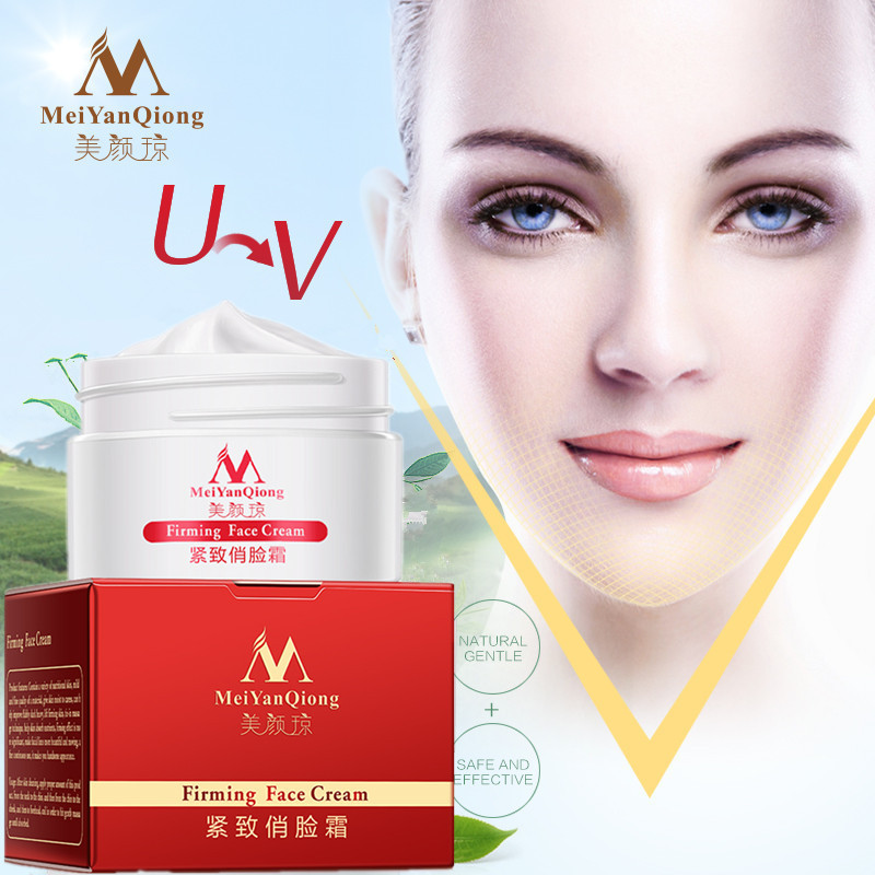 Meiyanqiong Firming Face Cream Moisturizing Whitening Face Care Anti-winkle Anti Aging V-face Thin Face Cream 100% original face care liang bang su professional whitening cream for face anti freckle face cream anti spot
