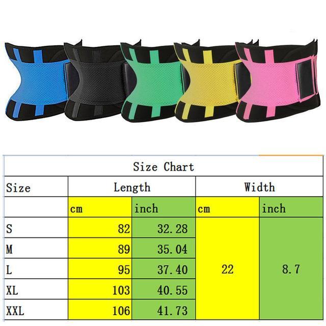 Hot Body Shaper Unisex Waist Cincher Trimmer Tummy Slimming Belt Latex Waist Trainer For Men Women Postpartum Corset Shapewea 4