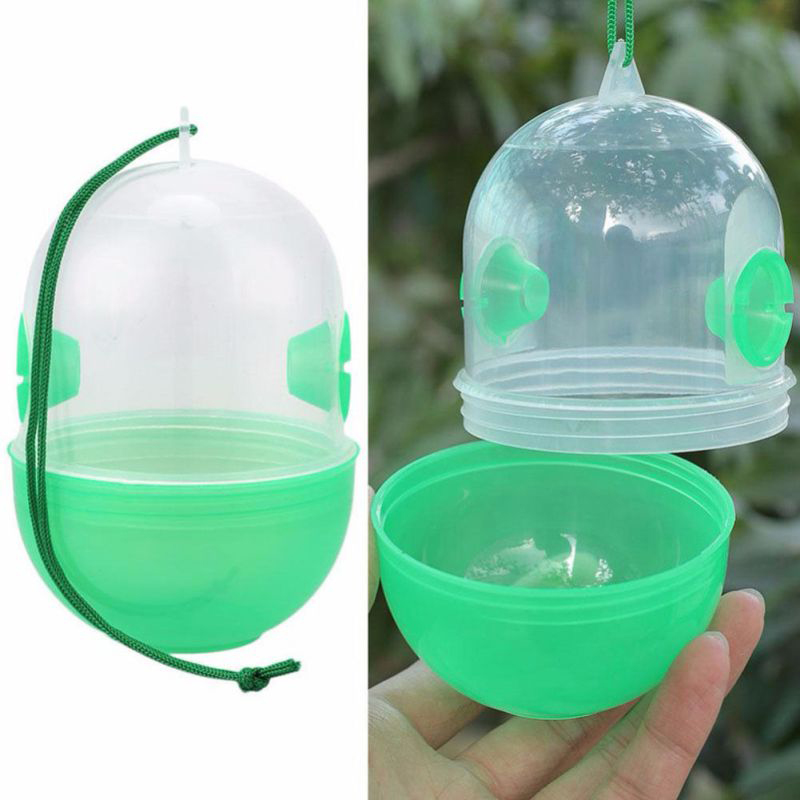 Bee Trapper Pest Repeller Insect Killer Pest Reject Insects Flies Hornet Trap Catcher Hanging On Tree Garden Tools Drop Shipping(China)