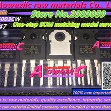 Aoweziic+ 100 импортный STTH6003CW STTH6003 TO-247 выпрямитель с быстрым восстановлением 60A 300V