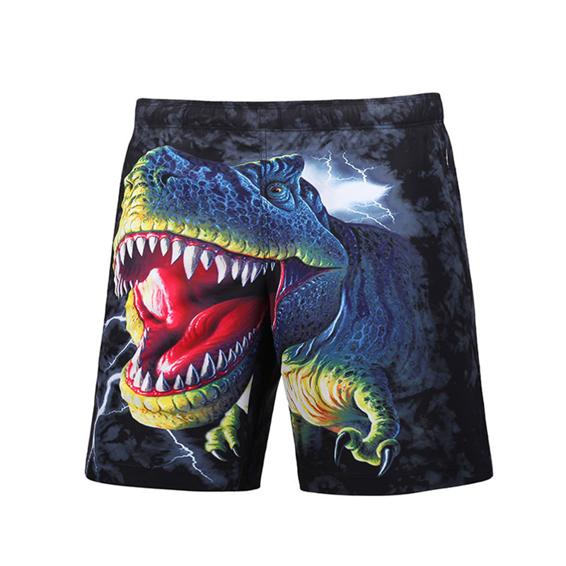 Newest Men's 3D Shark Printing Beach   Shorts   Man   Board     Shorts   Plus Size Surfing   Short   Trousers M-3XL