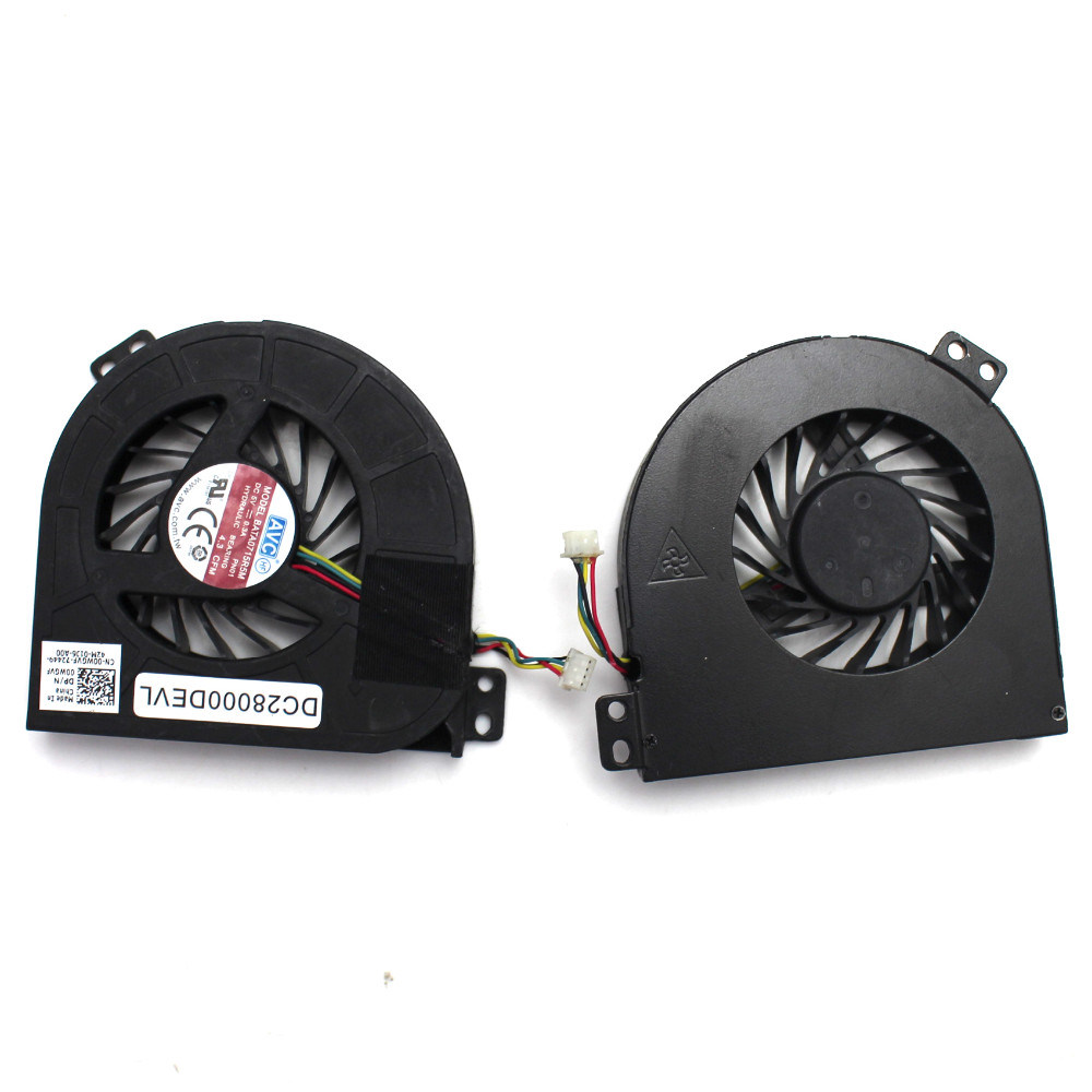 For Dell Precision M4700 M4800 Series 00WGVF 02K3K7 GPU Cooling Fan Substitute