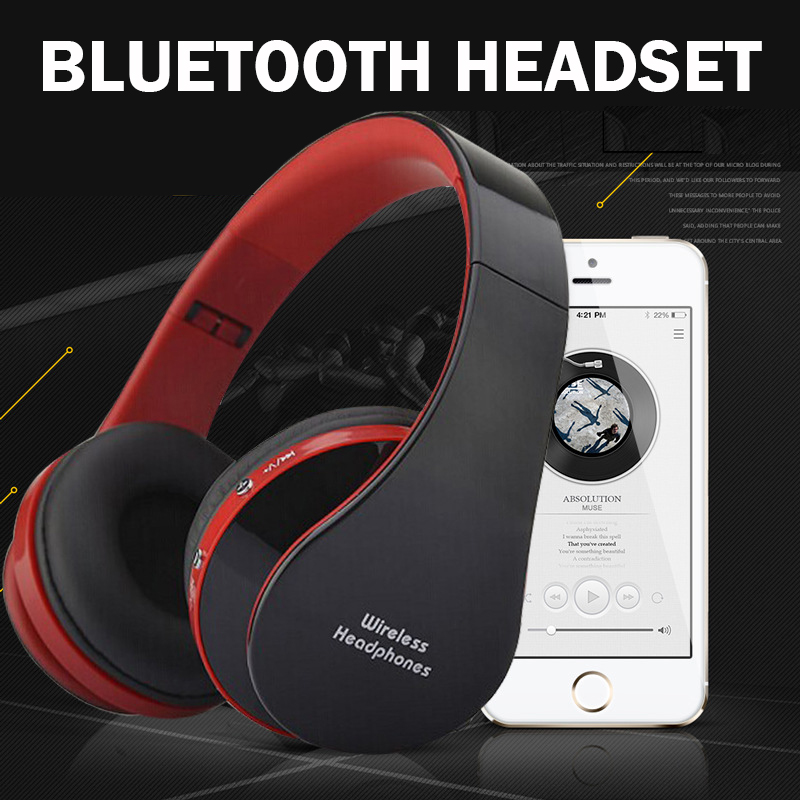 8252 original stereo sports gaming noise reduction built in microphone headphones wireless. Black Bedroom Furniture Sets. Home Design Ideas