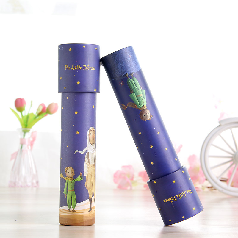 1pc Little Prince Kaleidoscope Toys Rotate Periscope Educational Toys for Children Baby Sensory Toy Children's Day Gifts