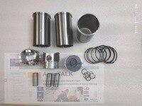 Conjunto de pistão e forros  anéis de pistão  pinos de pistão etc para o motor de laidong 3t30 para trator como luzhong  número da peça: