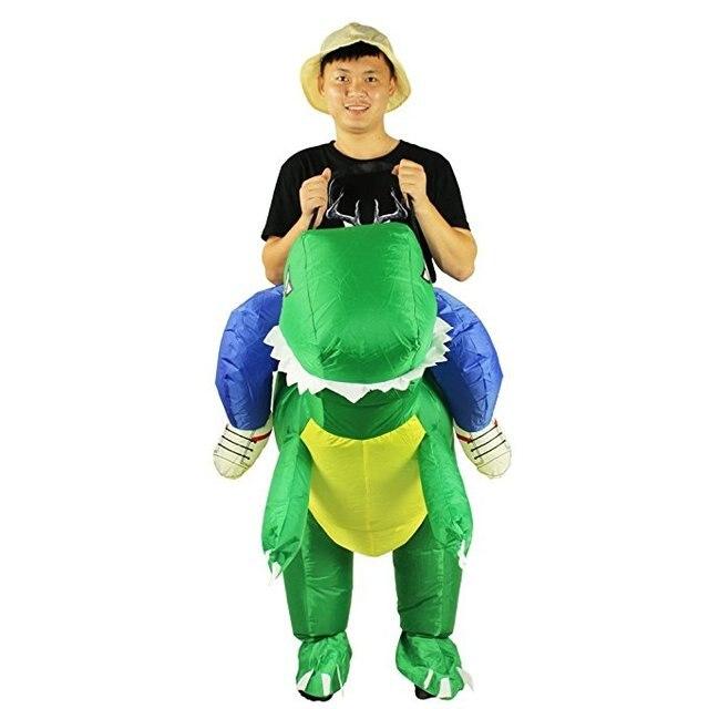 halloween aufblasbare dinosaurier kostum dragon overall kleidung halloween kostume lustige kostume tier cosplay voller satz
