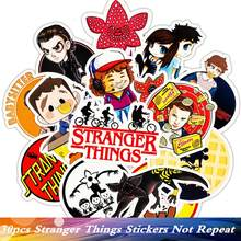 30pcs/Pack Brand Stranger Things Funny Luggage Sticker PVC Suitcase Travel Car Laptop Fridge Skate Motorcycle Guitar Stickers(China)