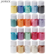 20 Colors Mica Powder Epoxy Resin Dye Pearl Pigment Natural Mineral