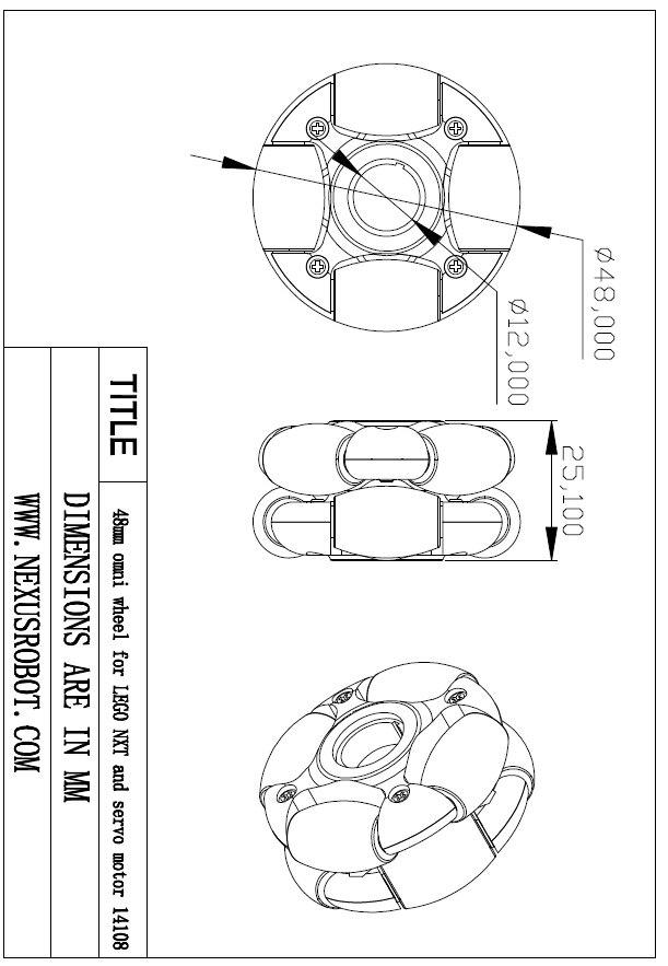 48-milimetrska kolesa Omni - Šolske in izobraževalne potrebščine - Fotografija 5