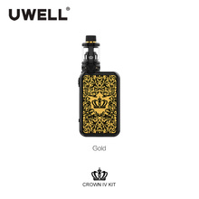 UWELL Crown IV Crown 4 Kit With 5ml Crown 4 Tank Atomizer 5-200W  Crown IV Box Mod Electronic Cigarette Kit VS Drag 2