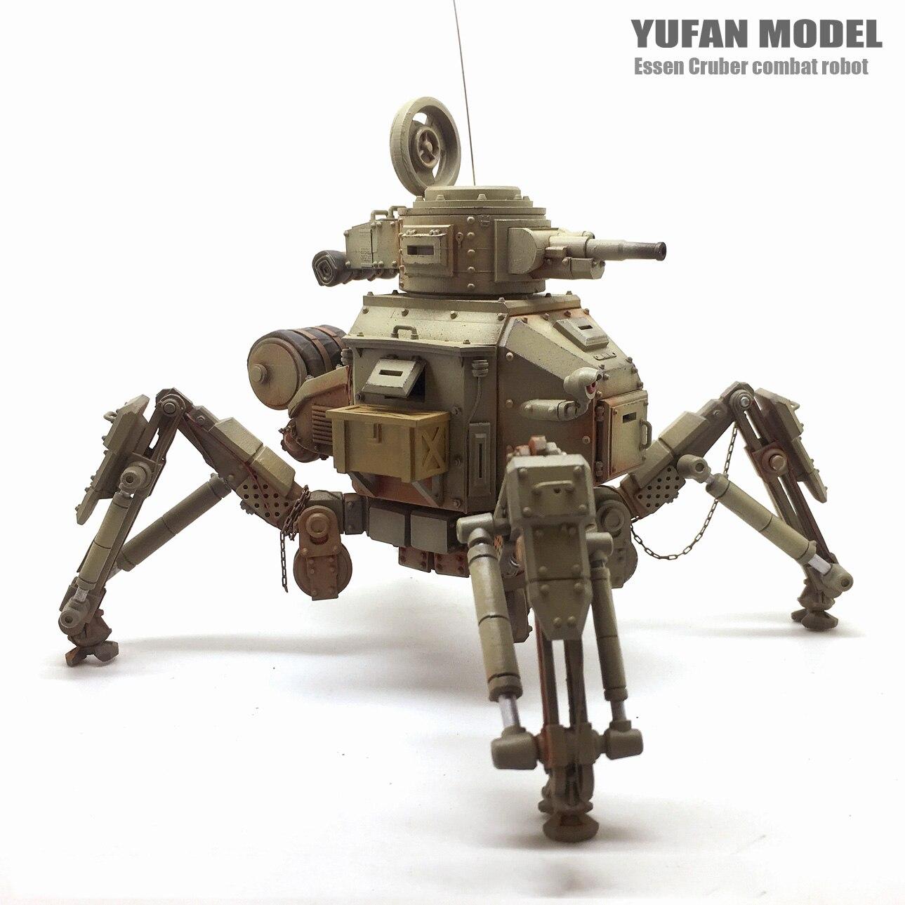 1/35 máquina tanque cielo Robot resina figura soldado modelo YFWW 1835-in Kits de construcción de maquetas from Juguetes y pasatiempos    3
