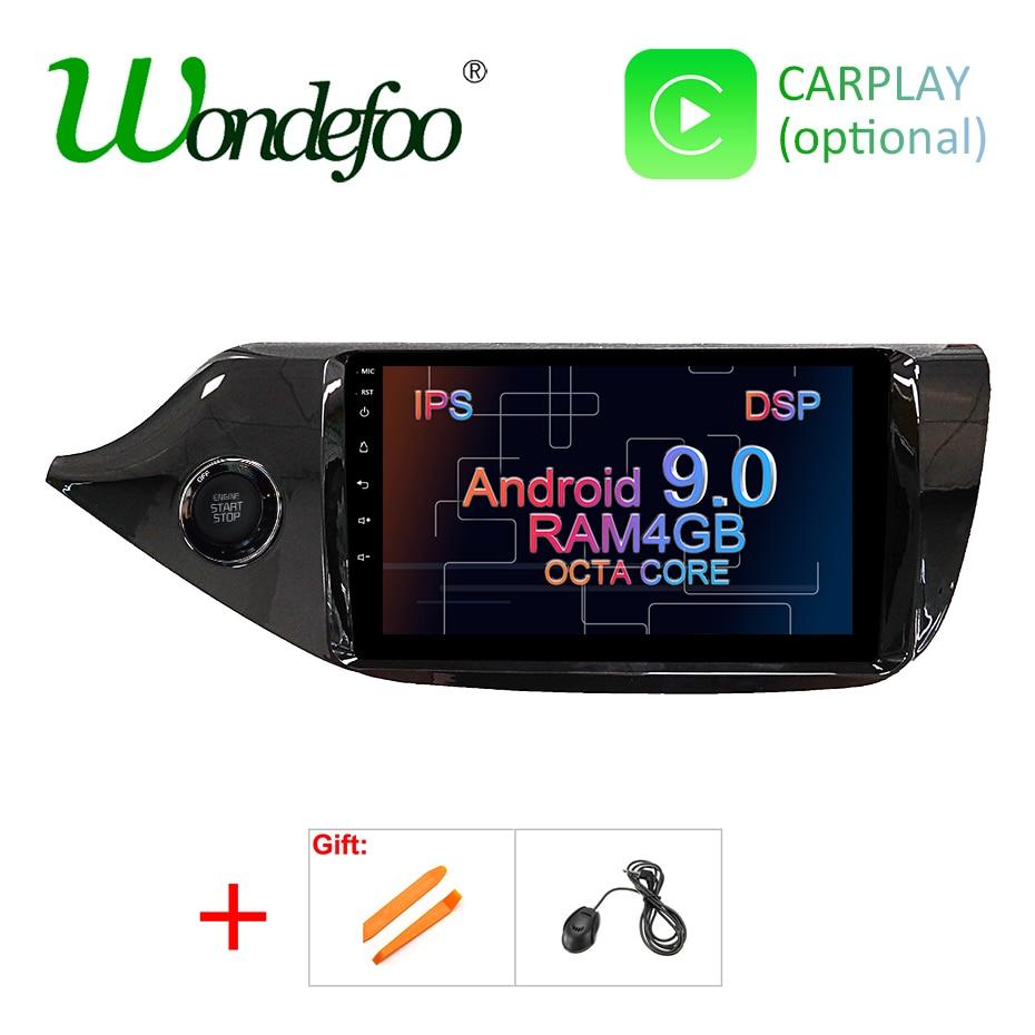 4G RAM DSP Android 9 0 IPS 2 5D Screen GPS Radio For KIA Ceed 2013