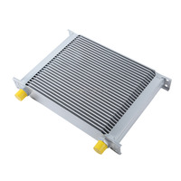 UNIVERSAL 30 ROW AN-10AN ENGINE TRANSMISSION RACING OIL COOLER