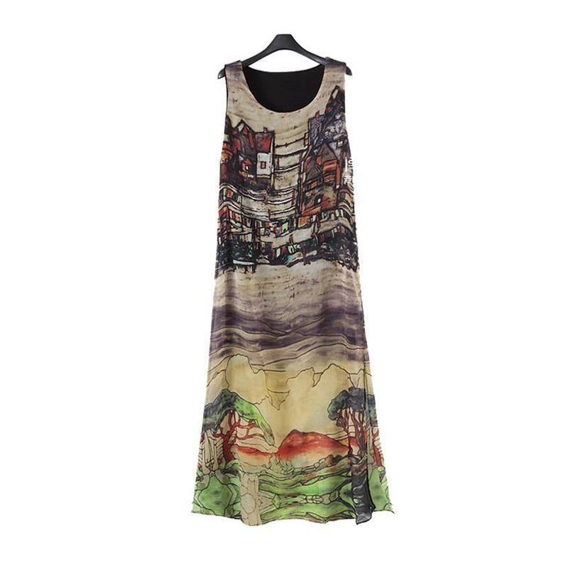 Queechalle 2019 Ամառային զգեստ Կանացի մեծ - Կանացի հագուստ - Լուսանկար 4