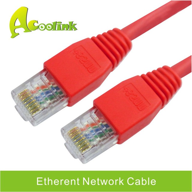 6.5FT 0.5M 2M 24AWG CAT5E Flat UTP Computer Ethernet Network Cable ...