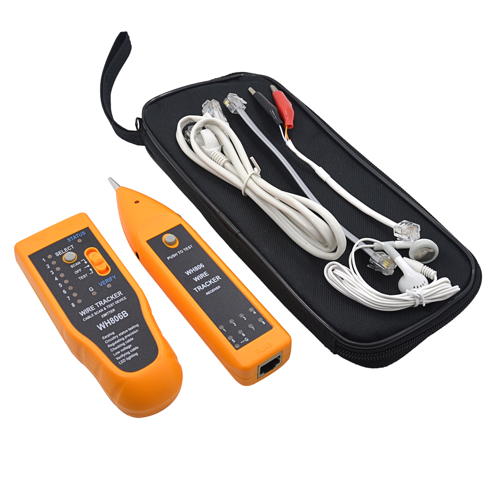 Kleinpaket WH806B Telefon Draht verfolger netzwerk Kabel Tester für ...