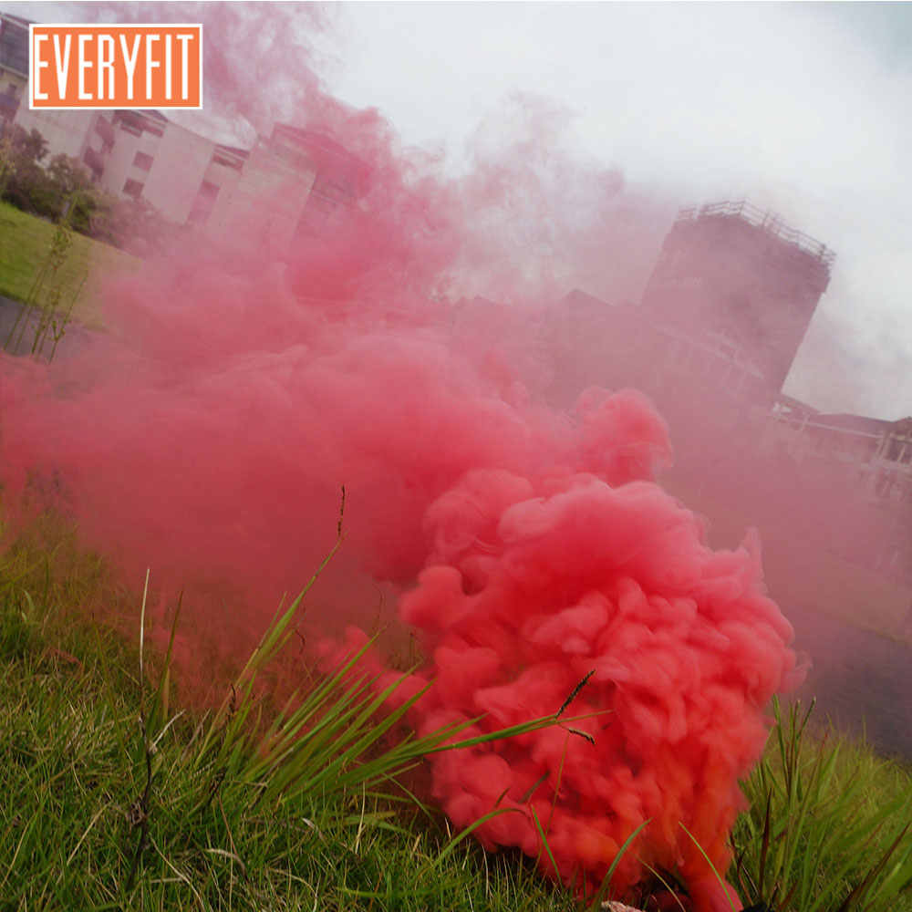 Everyfit 5pcs Smoke Cake Colorful Effect Show Round Bomb Studio Photography  Aid Toy Divine For Party, photography