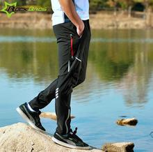 ROCKBROS Outdoor sports Windproof reflective Pants Multi-Zipper Running Camping Biking Fitness Trousers Men&Woman Plus Size 4XL цена 2017