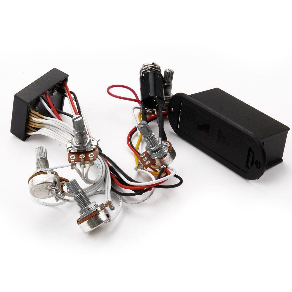 3 band eq preamp circuit bass guitar wiring harness for active bass rh aliexpress com Guitar Wiring Harness eBay Stratocaster Custom Wiring Harness