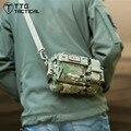 Militar Unisex Cintura Packs EDC Militar Sling Saco com Uma Alça de Ombro Ocasional MilitaryFunny Packs
