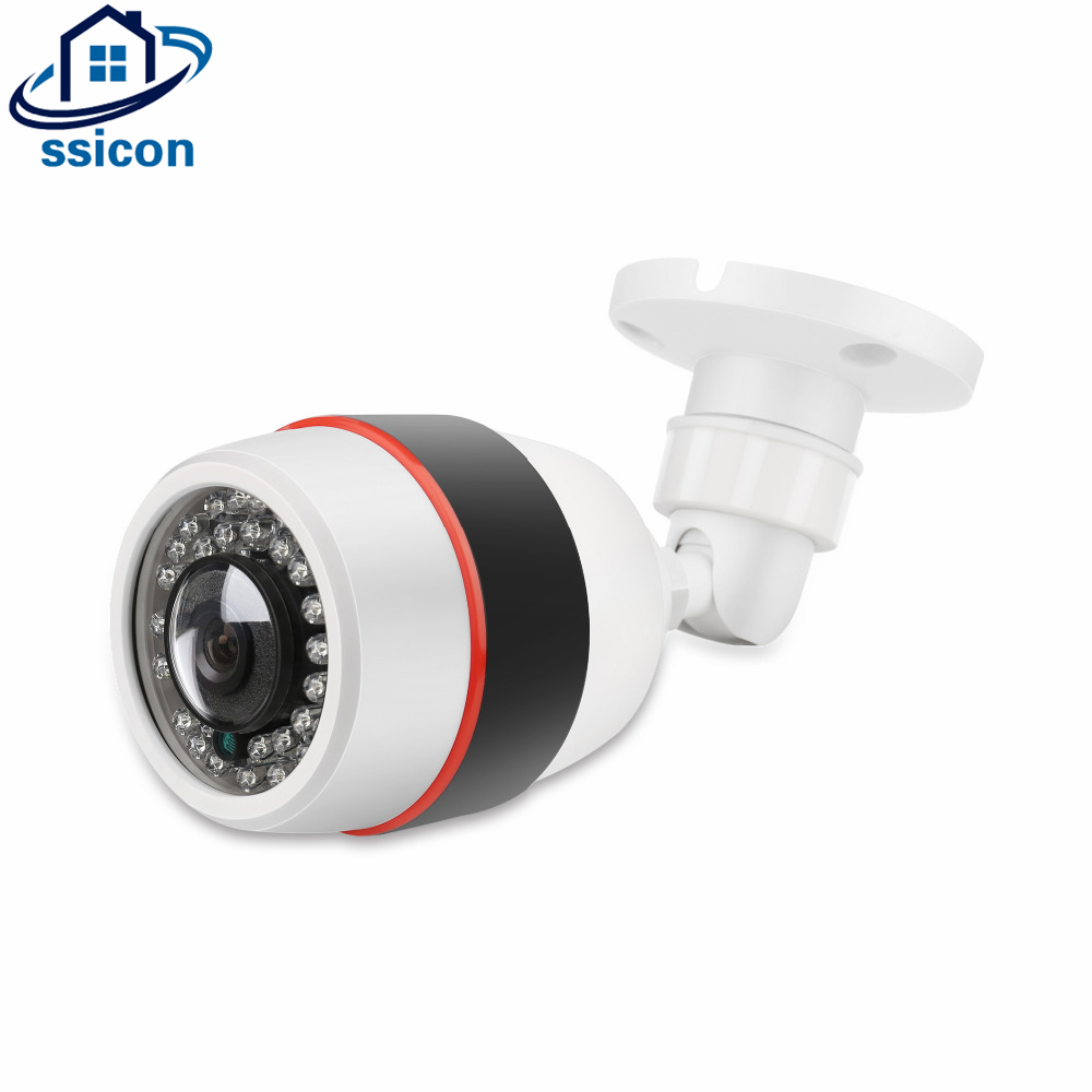 SSICON 2MP 180 Degree 360 Degree Lens CMOS Sensor Wide Angle View Panoramic Bullet Fisheye IP Camera 1080P Support Onvif