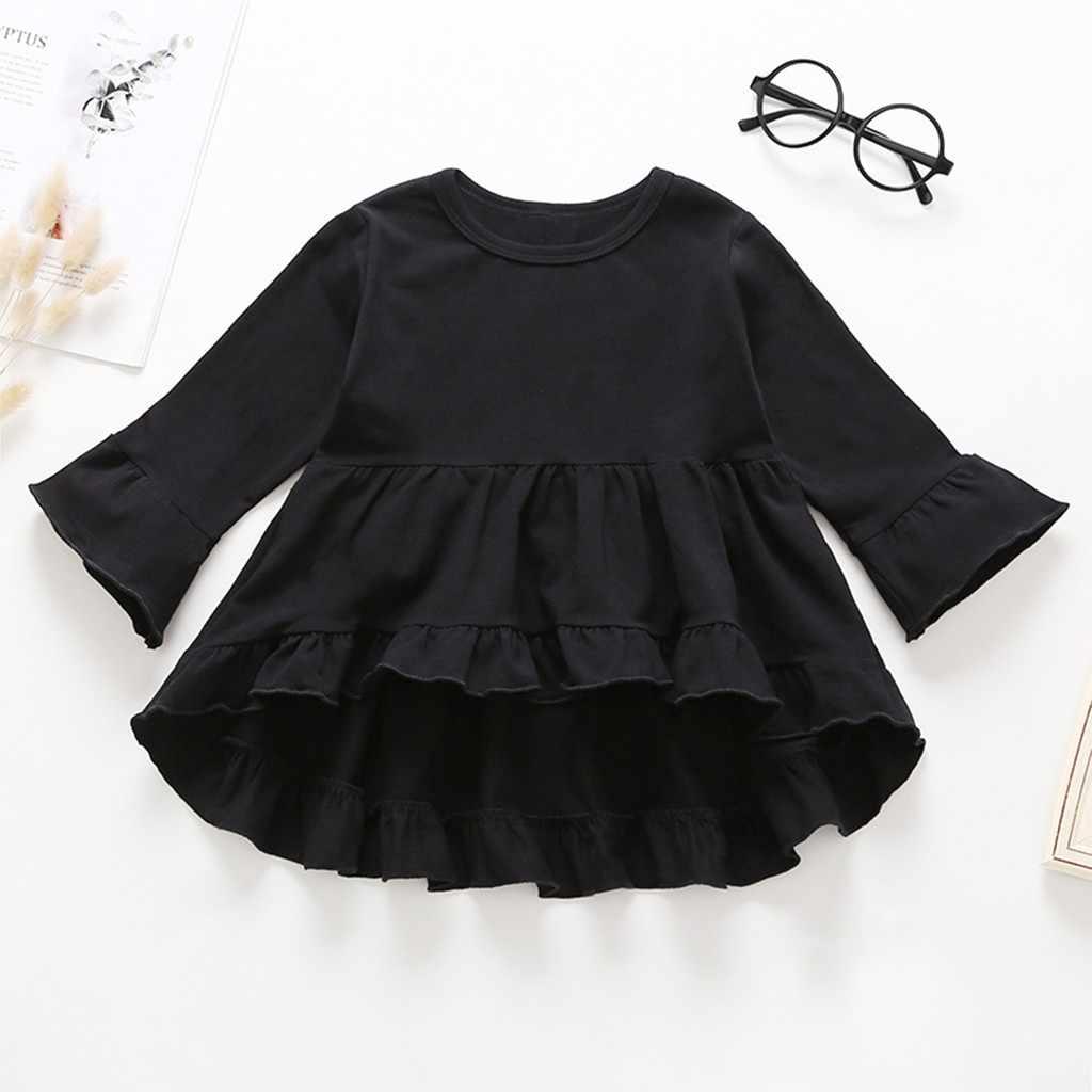 SAGACE 2PCS ילדים פעוט ילד תינוק בנות ילד ילדים ארוך שרוול בגדים העליונים + נוצת מכנסיים Oufits להלביש סט jly16